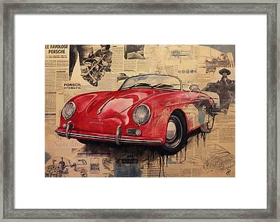 Porsche Framed Print