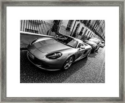 Porsche Carrera Gt Framed Print