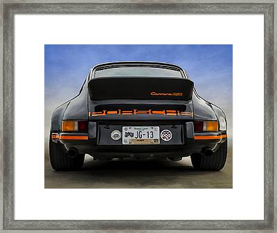 Porsche Carrera Rsr Framed Print by Douglas Pittman