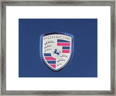 Porsche Dream Framed Print