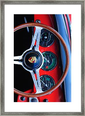 Porsche Iphone Case 1 Framed Print by Jill Reger