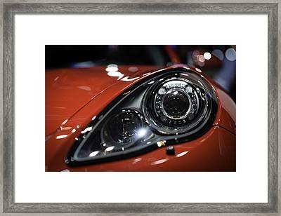 Porsche Panamera Gts Framed Print by Sebastian Musial