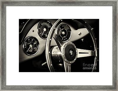 Porsche Speedster Framed Print by Tim Gainey