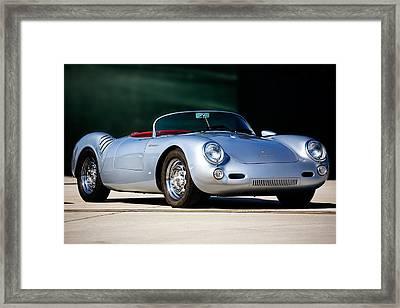 Porsche Spyder 550 Framed Print