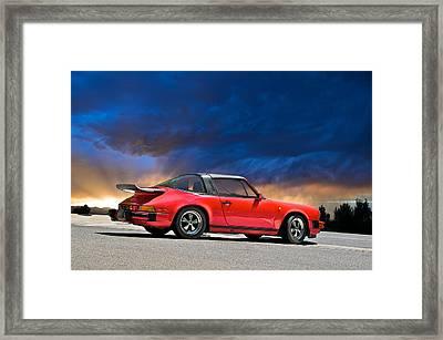 Porsche Targa Framed Print
