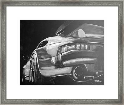 Porsche Turbo Framed Print