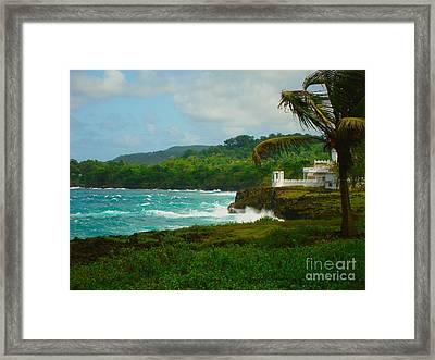 Port Antonio Framed Print by Carey Chen