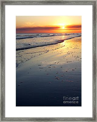 Port Arthur Sunset Framed Print