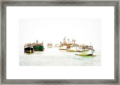 Port Bound  Chatham Cape Cod Photo Art Framed Print