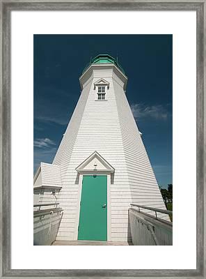 Port Dalhousie Lighthouse 9057 Framed Print