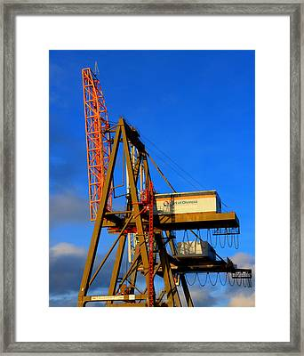 Framed Print featuring the photograph Port by David Stine