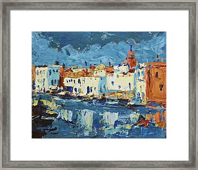 Port De Bizerte Framed Print by Brian Simons