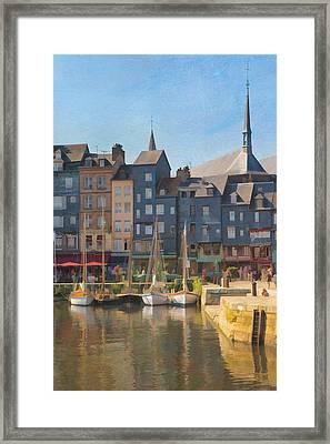 Port D'honfleur Framed Print
