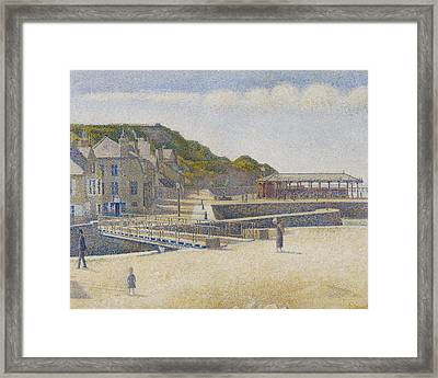Port En Bessin Framed Print