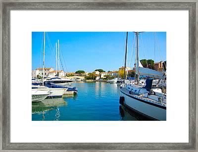 Port Grimaud Framed Print by Ewerton Watanabe