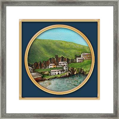 Port Isaac Framed Print