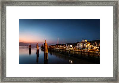 Port Jefferson Framed Print