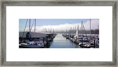 Framed Print featuring the photograph Port Kingston Marina by Greg Reed