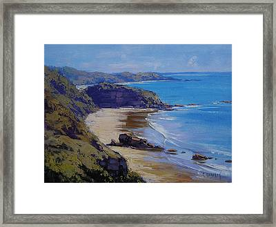 Port Macquarie Beach Framed Print