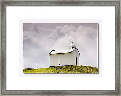 Port Macquarie Nsw Light House 01 Framed Print by Kevin Chippindall