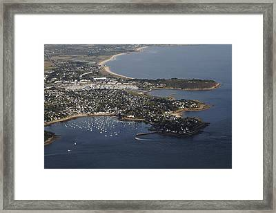 Port Navalo, Morbihan Framed Print