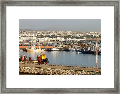 Port Of Agadir Morocco 1 Framed Print