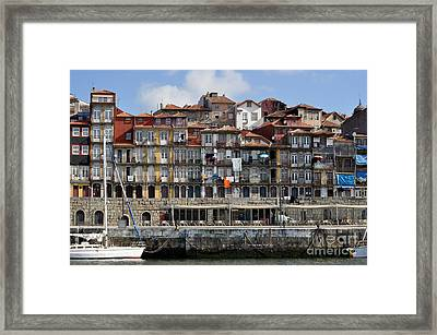 Port Of Call Framed Print