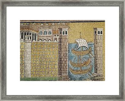 Port Of Classe. 550. Italy. Ravenna Framed Print