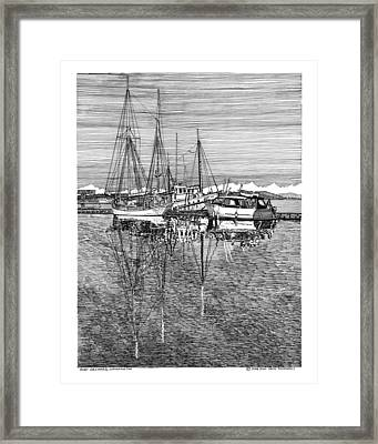 Port Orchard Marina Framed Print by Jack Pumphrey