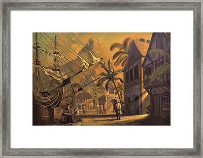 Port Royal Framed Print by A Prints