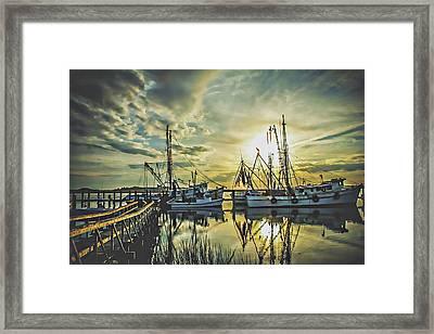Port Royal Framed Print by Jessica Brawley