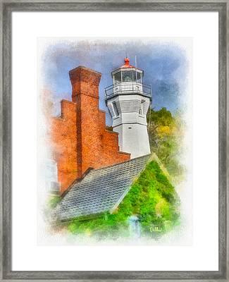 Port Sanilac Light Framed Print