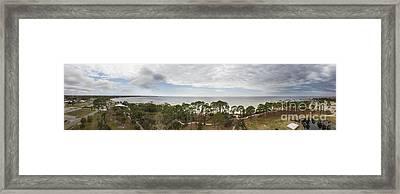 Port St Joe Florida Framed Print by Twenty Two North Photography