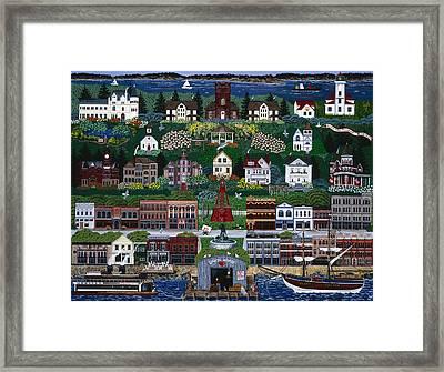 Port Townsend Framed Print