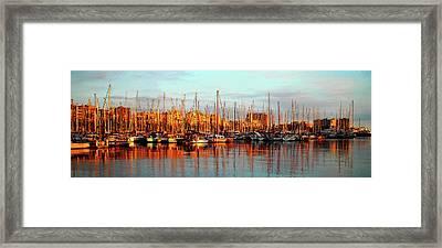 Port Vell - Barcelona Framed Print by Juergen Weiss