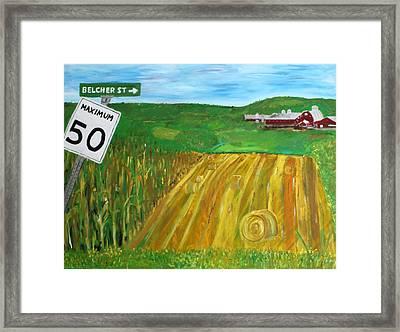 Port Williams  Framed Print by Mark Stiles
