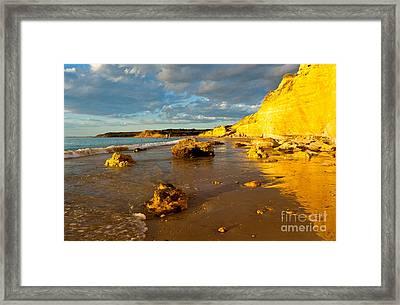Port Willunga Beach Framed Print by Bill  Robinson