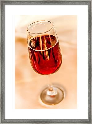 Port Wine Framed Print