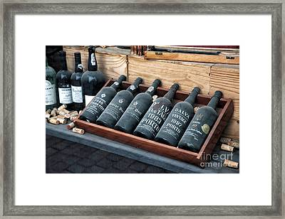 Port Wine Framed Print by John Rizzuto