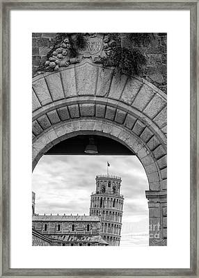 Porta Di Pisa Framed Print