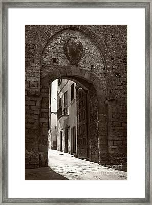 Porta Florentina Framed Print