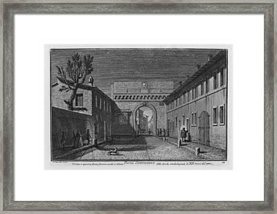 Porta Settimiana Framed Print