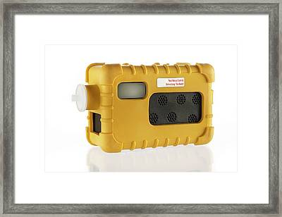 Portable Gas Detector Framed Print