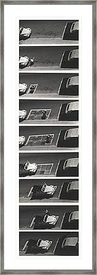 Portable Parking Space Framed Print by Blue Sky
