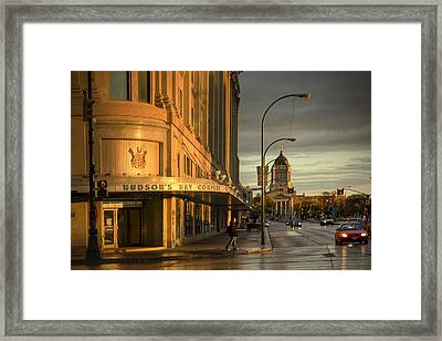 Portage And Memorial Framed Print