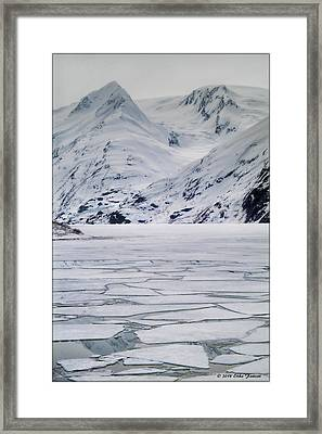 Portage Lake Framed Print