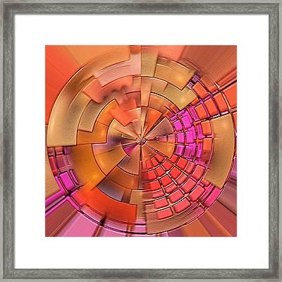 Portal 4 Framed Print