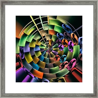 Portal 5 Framed Print by Wendy J St Christopher
