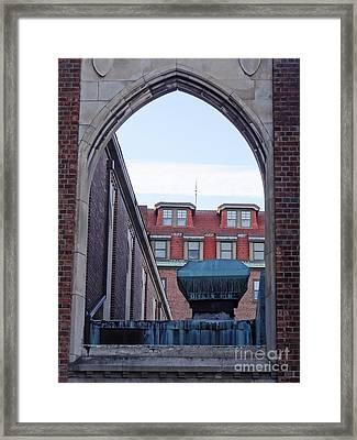 Portal Framed Print by John Velasquez