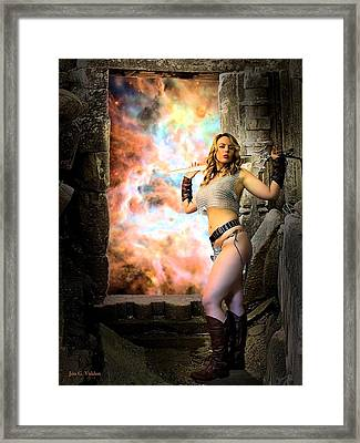 Portal Of Magic Framed Print